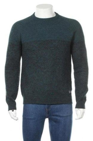 Pánský svetr , Velikost M, Barva Modrá, 85%acryl, 15% vlna, Cena  510,00Kč