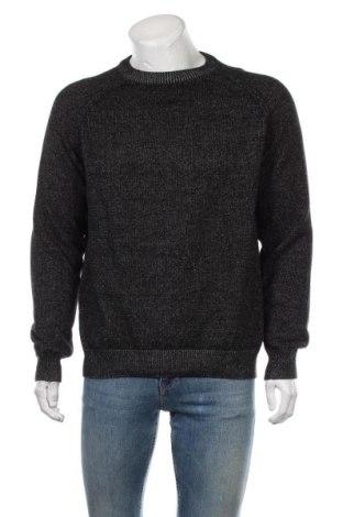 Мъжки пуловер Angelo Litrico, Размер XL, Цвят Черен, Памук, Цена 29,14лв.