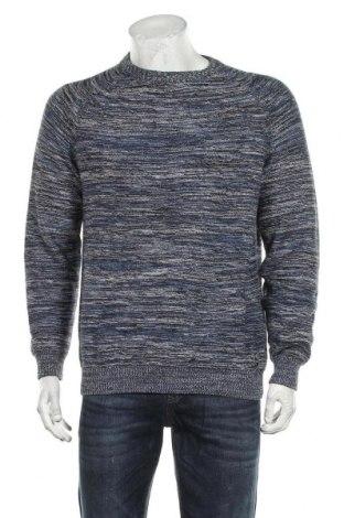 Мъжки пуловер Angelo Litrico, Размер M, Цвят Син, Памук, Цена 19,11лв.