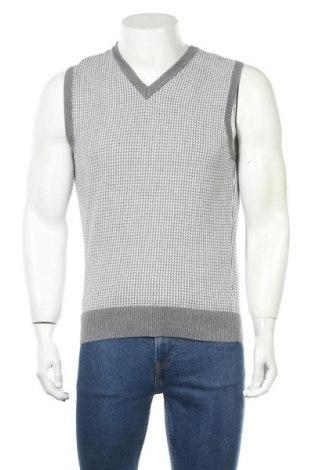 Мъжки пуловер Angelo Litrico, Размер M, Цвят Сив, Памук, Цена 16,91лв.