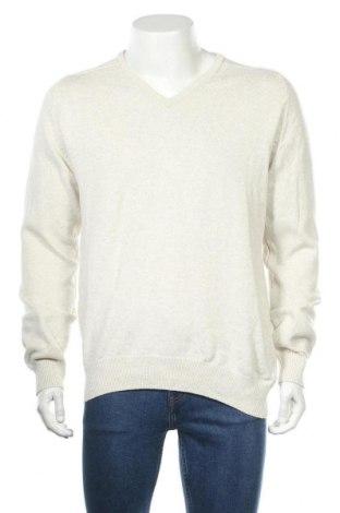 Мъжки пуловер Angelo Litrico, Размер XL, Цвят Екрю, Памук, Цена 21,32лв.