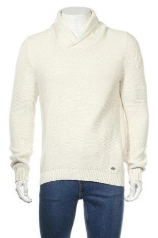 Мъжки пуловер Angelo Litrico, Размер M, Цвят Бежов, Памук, Цена 19,85лв.