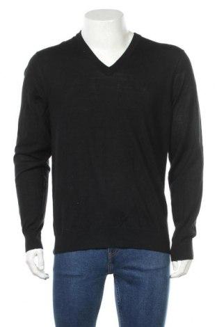 Pánský svetr  Armani Exchange, Velikost L, Barva Černá, 70% vlna, 30%acryl, Cena  2057,00Kč