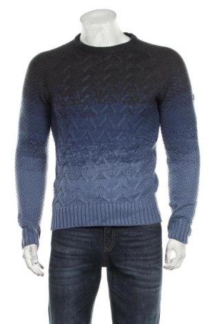 Pánský svetr  Crosshatch, Velikost M, Barva Modrá, Akryl , Cena  367,00Kč
