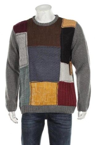 Ανδρικό πουλόβερ Desigual, Μέγεθος L, Χρώμα Πολύχρωμο, 84%ακρυλικό, 14% μαλλί, 2% πολυαμίδη, Τιμή 87,11€
