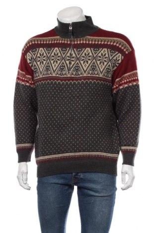Ανδρικό πουλόβερ Globe Trotter, Μέγεθος L, Χρώμα Πολύχρωμο, 70% βαμβάκι, 30% μαλλί, Τιμή 16,24€