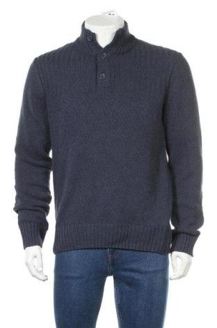 Pánský svetr  Identic, Velikost M, Barva Modrá, 70% bavlna, 30% polyester, Cena  367,00Kč