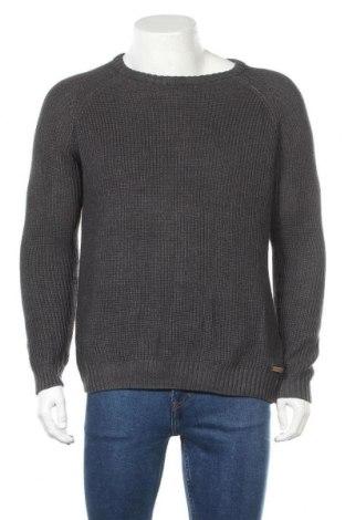 Ανδρικό πουλόβερ Livergy, Μέγεθος L, Χρώμα Γκρί, 50% βαμβάκι, 50% πολυακρυλικό, Τιμή 14,29€
