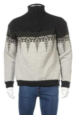Pánský svetr  McKinley, Velikost XL, Barva Šedá, 60% vlna, 40% polyamide, Cena  526,00Kč
