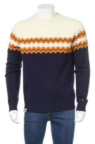 Ανδρικό πουλόβερ Napapijri, Μέγεθος L, Χρώμα Μπλέ, 80% μαλλί, 20% πολυαμίδη, Τιμή 76,94€
