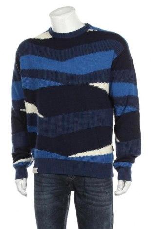 Ανδρικό πουλόβερ Napapijri, Μέγεθος L, Χρώμα Μπλέ, 80% μαλλί, 20% πολυαμίδη, Τιμή 80,80€