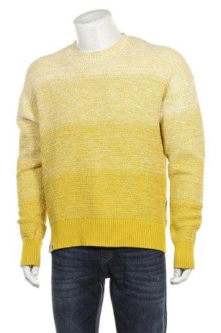 Ανδρικό πουλόβερ Napapijri, Μέγεθος L, Χρώμα Κίτρινο, Βαμβάκι, Τιμή 65,33€