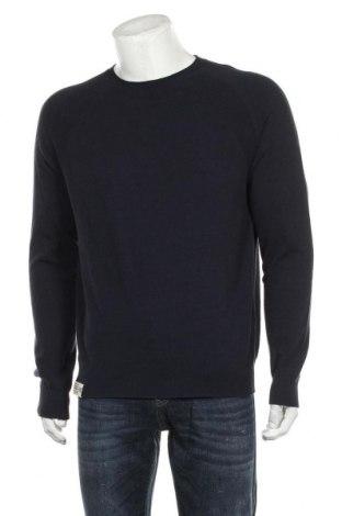 Ανδρικό πουλόβερ Napapijri, Μέγεθος L, Χρώμα Μπλέ, 78% βαμβάκι, 22% πολυαμίδη, Τιμή 53,74€