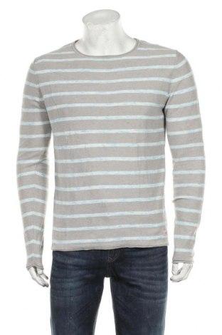 Мъжки пуловер Originals By Jack & Jones, Размер S, Цвят Сив, Памук, Цена 39,20лв.