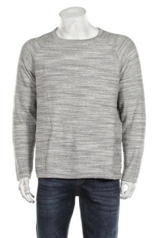 Мъжки пуловер Originals By Jack & Jones, Размер XL, Цвят Сив, 85% памук, 15% полиестер, Цена 36,75лв.