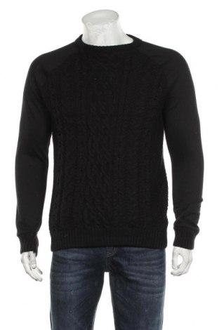 Ανδρικό πουλόβερ River Island, Μέγεθος M, Χρώμα Μαύρο, Ακρυλικό, Τιμή 16,89€