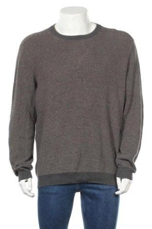 Ανδρικό πουλόβερ Tasso Elba, Μέγεθος XL, Χρώμα Γκρί, Βαμβάκι, Τιμή 16,89€
