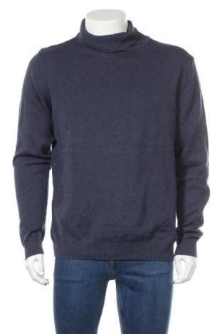 Pánský svetr  Watson's, Velikost XL, Barva Modrá, Bavlna, Cena  383,00Kč