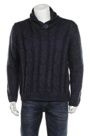 Pánský svetr  Weatherproof, Velikost L, Barva Modrá, Akryl , Cena  383,00Kč