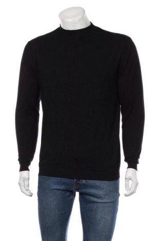 Ανδρικό πουλόβερ Zara, Μέγεθος L, Χρώμα Μαύρο, Τιμή 22,73€