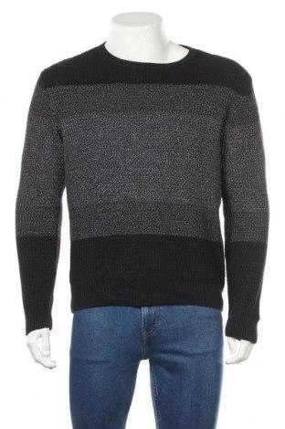 Мъжки пуловер Zara Man, Размер L, Цвят Черен, 66% акрил, 29% полиамид, 5% други материали, Цена 35,70лв.