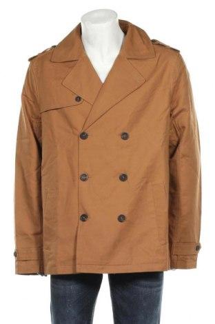 Мъжки шлифер Pier One, Размер XXL, Цвят Бежов, Памук, Цена 81,75лв.
