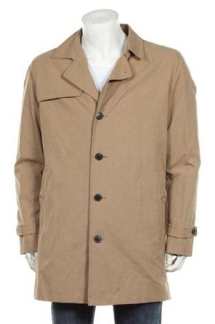 Мъжки шлифер Selected Homme, Размер XL, Цвят Бежов, 58% памук, 25% полиестер, 17% полиамид, Цена 126,75лв.