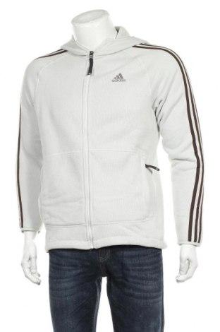 Hanorac de bărbați Adidas, Mărime M, Culoare Gri, Poliester, Preț 116,45 Lei