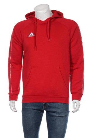 Ανδρικό φούτερ Adidas, Μέγεθος M, Χρώμα Κόκκινο, 70% βαμβάκι, 30% πολυεστέρας, Τιμή 38,27€