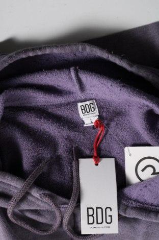 Мъжки суичър BDG, Размер L, Цвят Лилав, 57% полиестер, 43% памук, Цена 31,09лв.