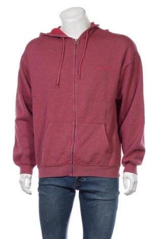 Мъжки суичър BDG, Размер S, Цвят Червен, 57% полиестер, 43% памук, Цена 30,09лв.