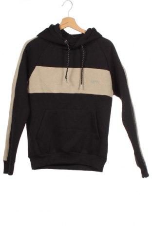 Ανδρικό φούτερ Boohoo, Μέγεθος XS, Χρώμα Μαύρο, 50% βαμβάκι, 50% πολυεστέρας, Τιμή 18,95€