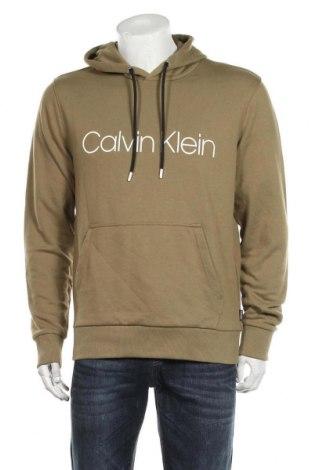 Ανδρικό φούτερ Calvin Klein, Μέγεθος M, Χρώμα Πράσινο, 98% βαμβάκι, 2% ελαστάνη, Τιμή 57,60€