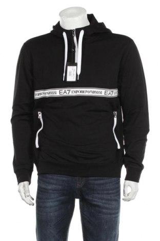 Ανδρικό φούτερ Emporio Armani, Μέγεθος L, Χρώμα Μαύρο, Βαμβάκι, Τιμή 76,94€
