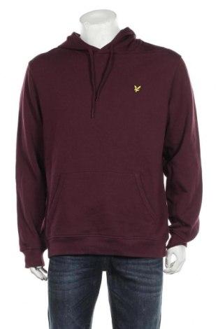 Ανδρικό φούτερ Lyle & Scott, Μέγεθος XL, Χρώμα Βιολετί, 100% βαμβάκι, Τιμή 34,18€
