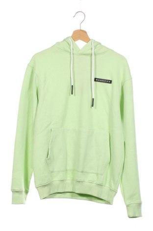 Мъжки суичър Mennace, Размер XS, Цвят Зелен, 50% памук, 50% полиестер, Цена 39,00лв.