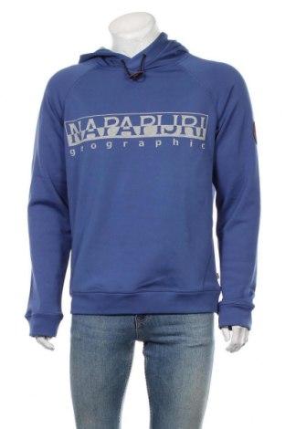 Hanorac de bărbați Napapijri, Mărime L, Culoare Albastru, Preț 355,66 Lei