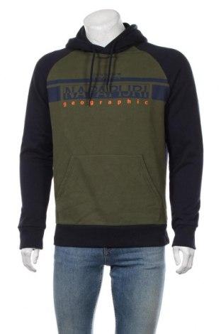Мъжки суичър Napapijri, Размер L, Цвят Зелен, 90% памук, 10% полиестер, Цена 89,57лв.