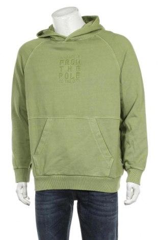 Hanorac de bărbați Napapijri, Mărime L, Culoare Verde, Bumbac, Preț 378,03 Lei