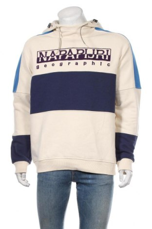 Мъжки суичър Napapijri, Размер L, Цвят Многоцветен, 80% памук, 20% полиестер, Цена 133,56лв.