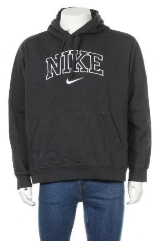 Мъжки суичър Nike, Размер XL, Цвят Сив, Памук, Цена 61,50лв.