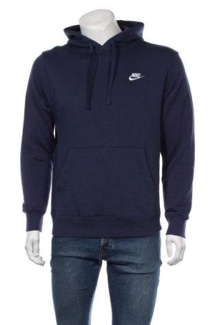 Ανδρικό φούτερ Nike, Μέγεθος S, Χρώμα Μπλέ, 80% βαμβάκι, 20% πολυεστέρας, Τιμή 35,57€
