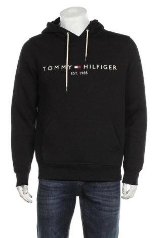 Ανδρικό φούτερ Tommy Hilfiger, Μέγεθος M, Χρώμα Μαύρο, 64% βαμβάκι, 36% πολυεστέρας, Τιμή 53,74€