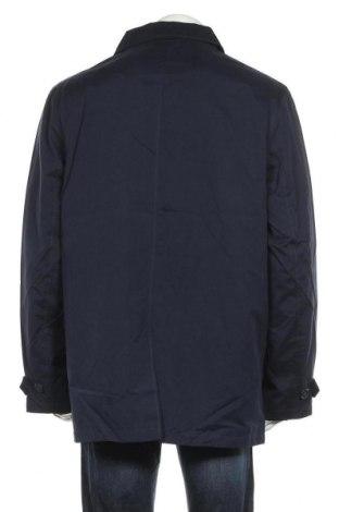 Мъжко палто, Размер XL, Цвят Син, 52% полиестер, 38% памук, 10% полиамид, Цена 37,04лв.