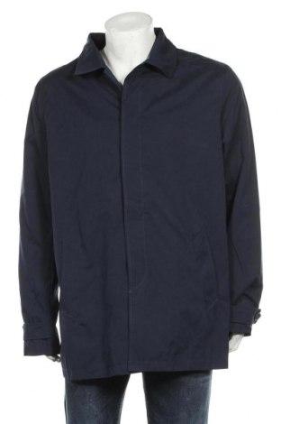 Мъжко палто, Размер XL, Цвят Син, 52% полиестер, 38% памук, 10% полиамид, Цена 59,25лв.