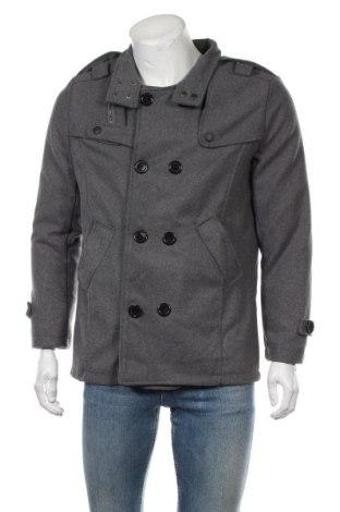 Мъжко палто, Размер M, Цвят Сив, Цена 28,67лв.