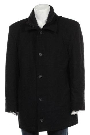 Мъжко палто A.W.Dunmore, Размер XL, Цвят Черен, 60% вълна, 40% полиестер, Цена 59,64лв.