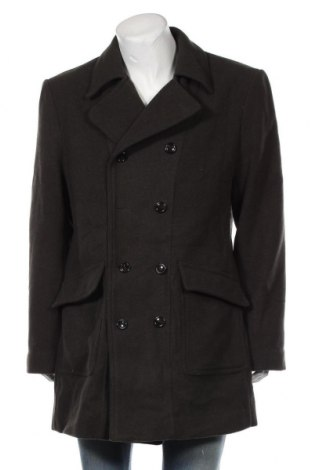 Мъжко палто Angelo Litrico, Размер XXL, Цвят Зелен, Цена 24,57лв.