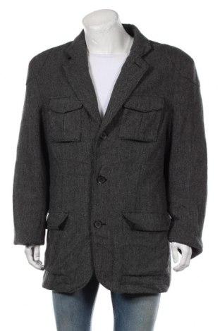 Мъжко палто Angelo Litrico, Размер XXL, Цвят Сив, 70% вълна, 30% полиамид, Цена 34,65лв.