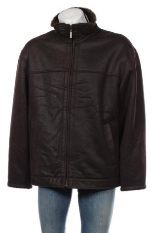 Мъжко палто Angelo Litrico, Размер XL, Цвят Кафяв, 80% полиестер, 20% акрил, Цена 37,49лв.